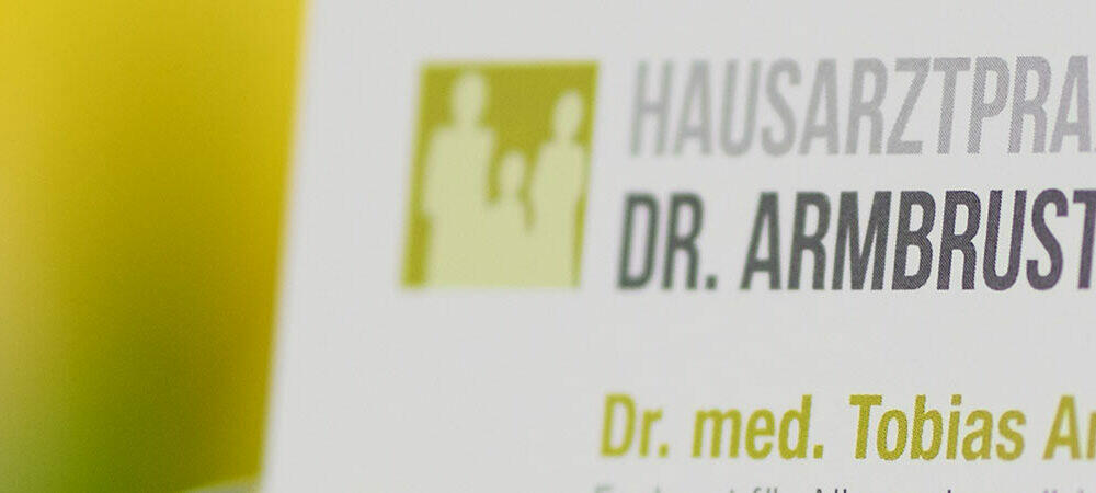 Hausarzt Dr. med. Tobias Armbruster